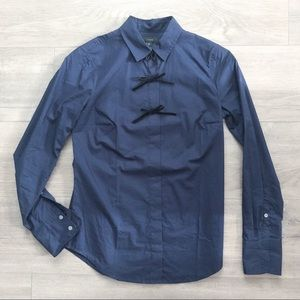 J. Crew Button Down Shirt with Bows